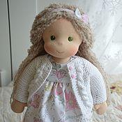 Вальдорфские куклы и звери ручной работы. Ярмарка Мастеров - ручная работа Вальдорфская кукла в Белая нежность. Handmade.