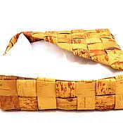 Для дома и интерьера handmade. Livemaster - original item Beautiful napkin holder made of birch bark. Handmade.
