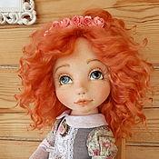 Куклы и пупсы ручной работы. Ярмарка Мастеров - ручная работа Лизонька- текстильная куколка. Handmade.