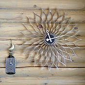 Для дома и интерьера ручной работы. Ярмарка Мастеров - ручная работа Часы-цветок. Handmade.