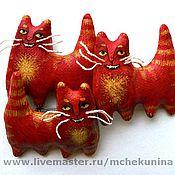 """Украшения ручной работы. Ярмарка Мастеров - ручная работа Брошь """"Сказочный кот"""". Handmade."""