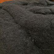 Материалы для творчества ручной работы. Ярмарка Мастеров - ручная работа Кап-мерино черная 21 мкм 50 гр.. Handmade.