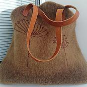 Сумки и аксессуары handmade. Livemaster - original item The Dried Flowers Shopping Bag. Handmade.