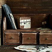"""Для дома и интерьера ручной работы. Ярмарка Мастеров - ручная работа Комод настольный """"Воспоминания"""". Handmade."""