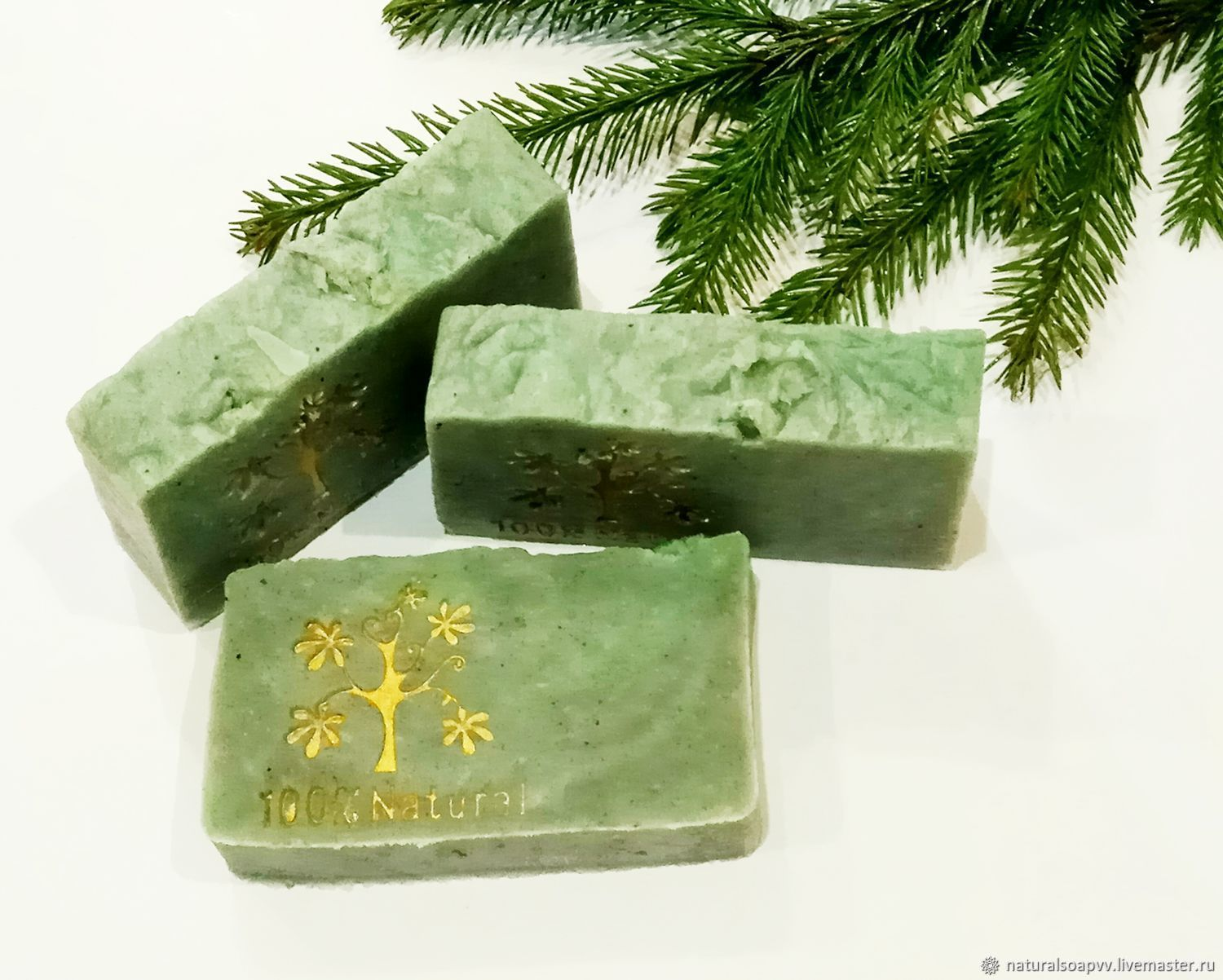 Soap from scratch natural Coniferous forest, Soap, Permian,  Фото №1