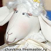 Куклы и игрушки ручной работы. Ярмарка Мастеров - ручная работа овечка Агафья Петровна. Handmade.