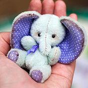 Куклы и игрушки ручной работы. Ярмарка Мастеров - ручная работа Авторская интерьерная игрушка слоник тедди Филеофант. Handmade.