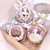 Сувениры и подарки handmade. Livemaster - original item Christmas balls handmade. Handmade.