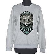 Одежда handmade. Livemaster - original item Sweatshirt Bear. Handmade.