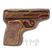 Материалы для творчества handmade. Livemaster - original item Silicone mold for soap Gun MMG. Handmade.