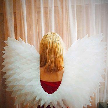 Товары для малышей ручной работы. Ярмарка Мастеров - ручная работа Крылья ангела для утренника (фея). Handmade.