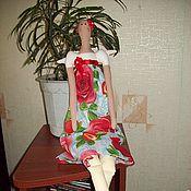 Куклы и игрушки ручной работы. Ярмарка Мастеров - ручная работа Тильда Садовый ангел. Handmade.