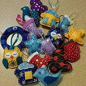Куклы и игрушки ручной работы. Ярмарка Мастеров - ручная работа Новогодние игрушки, елочные игрушки, подарки к Новому году. Handmade.