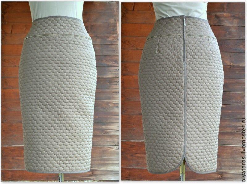 Как сшить стеганую юбку