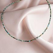 Украшения handmade. Livemaster - original item Choker made of natural turquoise. Handmade.