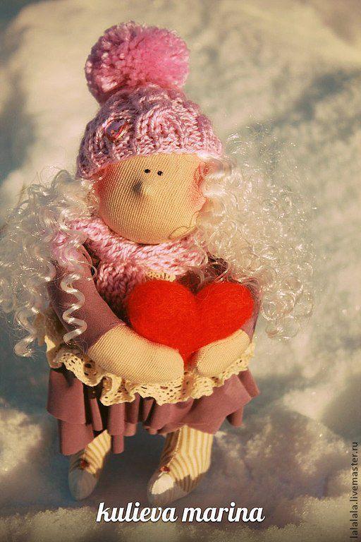 Куклы тыквоголовки ручной работы. Ярмарка Мастеров - ручная работа. Купить валентинка. Handmade. Кукла ручной работы, тыквоголовка, валентинка