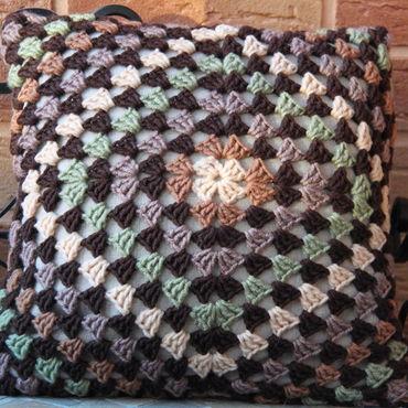 Textiles handmade. Livemaster - original item Pillow case. Handmade.
