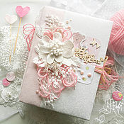Канцелярские товары handmade. Livemaster - original item Album for girls