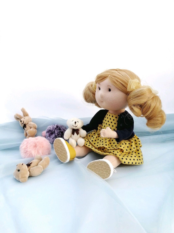 Кукла ручной работы. Интерьерная кукла. Подарок девушке, Интерьерная кукла, Санкт-Петербург,  Фото №1