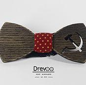 Аксессуары ручной работы. Ярмарка Мастеров - ручная работа деревянная галстук-бабочка DREVOO. Handmade.
