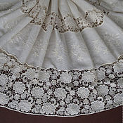 Материалы для творчества handmade. Livemaster - original item Incredibly beautiful lace embroidery 100% cotton, Victoria. Handmade.