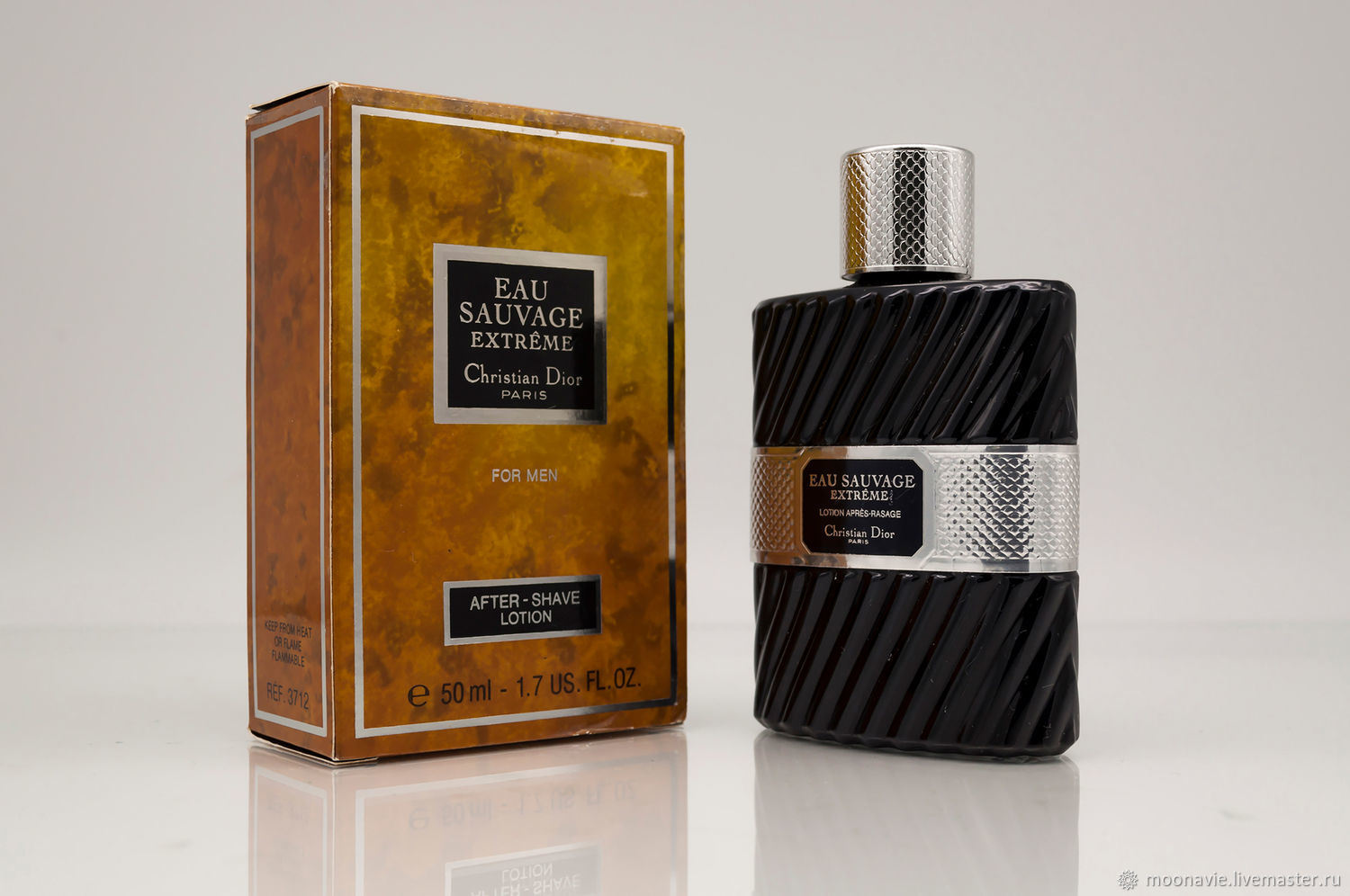 EAU SAUVAGE EXTREME (CHRISTIAN DIOR), after shave lotion 50 ml VINTAGE, Vintage perfume, St. Petersburg,  Фото №1