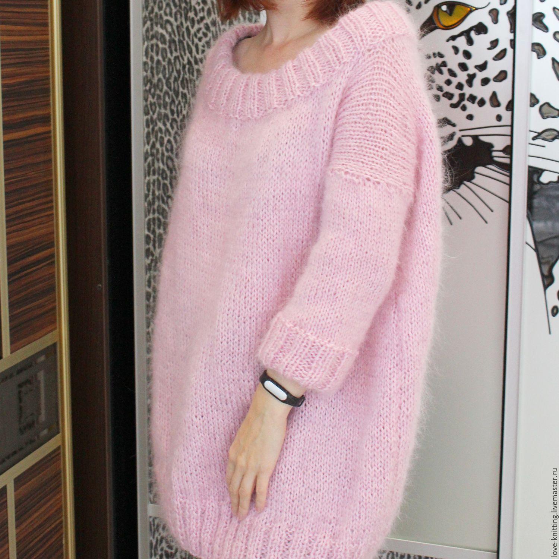 Мохеровый свитер схемы