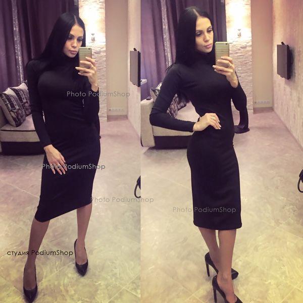 b2cee59038c4a7c Классическое черное платье – купить в интернет-магазине на Ярмарке ...