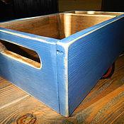 Для дома и интерьера ручной работы. Ярмарка Мастеров - ручная работа Ящик для хранения. Handmade.