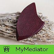 Музыкальные инструменты handmade. Livemaster - original item The mediator from the wood of Amaranth: Wood Eclipse. Handmade.