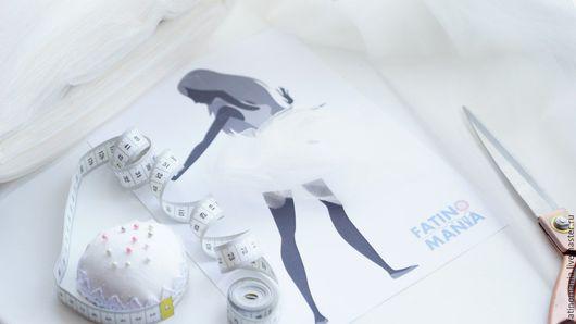 """Шитье ручной работы. Ярмарка Мастеров - ручная работа. Купить Фатин средней жесткости """"Айвори"""". Handmade. Белый, юбка из фатина"""