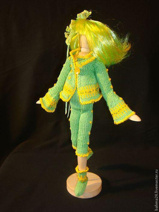Коллекционные куклы ручной работы. Ярмарка Мастеров - ручная работа. Купить Кукла - оберег Baby Green. Handmade. Интерьерная кукла