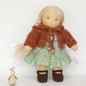 Куклы и игрушки ручной работы. Ярмарка Мастеров - ручная работа Катенька, текстильная кукла, 35 см. Handmade.