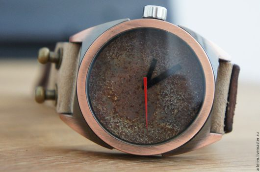Часы ручной работы. Ярмарка Мастеров - ручная работа. Купить Мужские наручные часы. Handmade. Часы, часы другу, часы