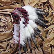 Одежда ручной работы. Ярмарка Мастеров - ручная работа Индейский головной убор - Отважная Охотница. Handmade.
