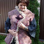 Одежда ручной работы. Ярмарка Мастеров - ручная работа Валяный жилет.. Handmade.