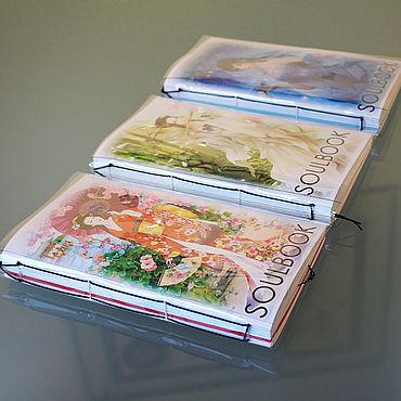 Stationery handmade. Livemaster - original item Notepad SOULBOOK-ART