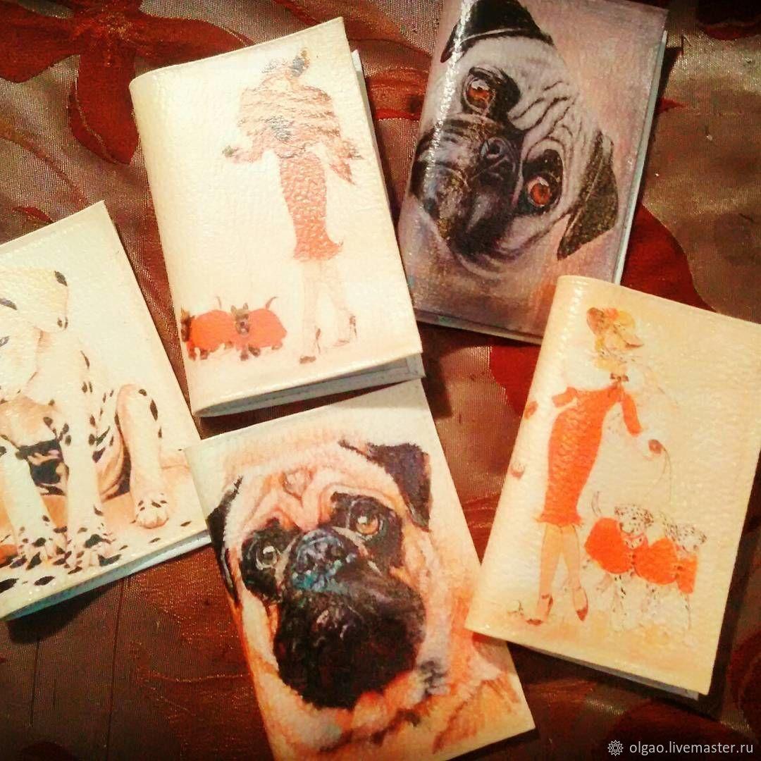 """Обложки для паспорта """"Год Собаки"""", Обложки, Москва, Фото №1"""