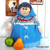Для дома и интерьера ручной работы. Ярмарка Мастеров - ручная работа Кукла на чайник Любаша. Handmade.