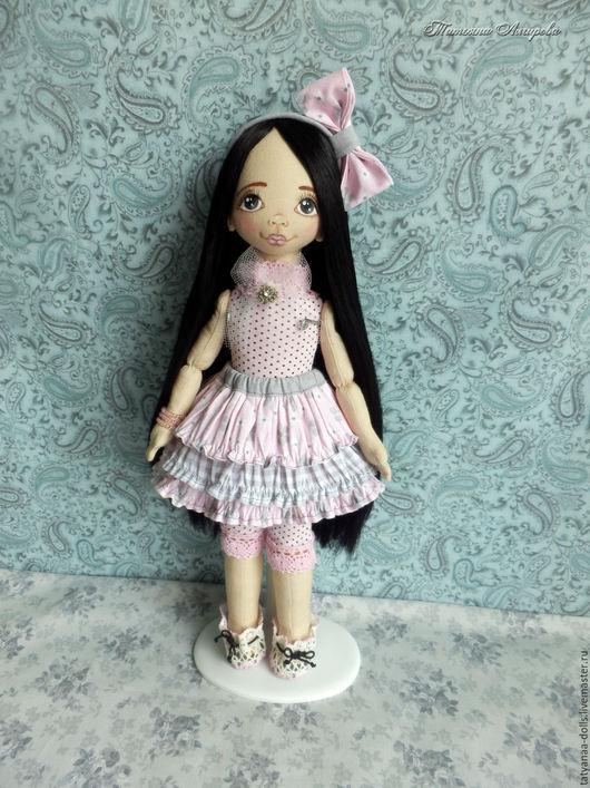 Коллекционные куклы ручной работы. Ярмарка Мастеров - ручная работа. Купить Текстильная кукла Алина 34 см. Handmade. Комбинированный