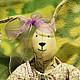 """Куклы Тильды ручной работы. Ярмарка Мастеров - ручная работа. Купить Игрушка тильда """"Заяц"""" (Кролик) ручной работы. Handmade."""