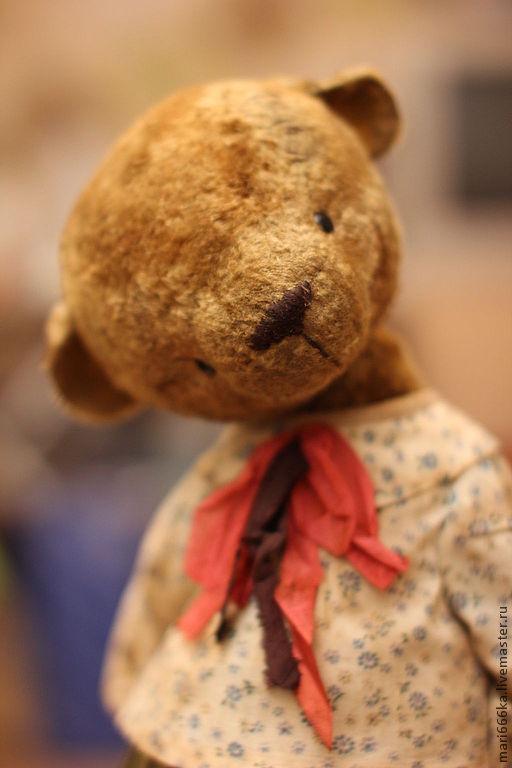 Мишки Тедди ручной работы. Ярмарка Мастеров - ручная работа. Купить С любимой игрушкой не расстанусь..... Handmade. Коричневый
