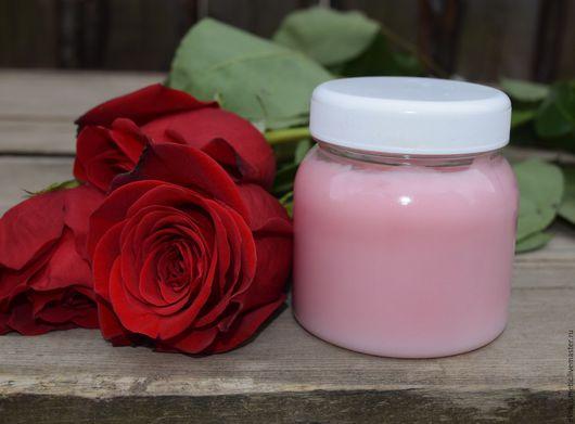 Бальзам для волос ручной работы. Ярмарка Мастеров - ручная работа. Купить Розовый бальзам для волос с эфирным маслом розы. Handmade.