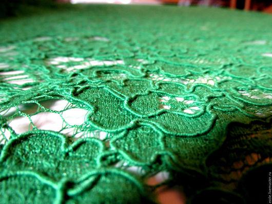Шитье ручной работы. Ярмарка Мастеров - ручная работа. Купить Кружево ярко зелёное трава и чёрный. Handmade. Ярко-зелёный