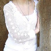 """Одежда ручной работы. Ярмарка Мастеров - ручная работа Пуловер """"Ажур"""". Handmade."""