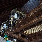 Для дома и интерьера ручной работы. Ярмарка Мастеров - ручная работа Люстра под старину. Handmade.