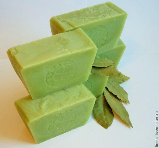 Мыло ручной работы. Ярмарка Мастеров - ручная работа. Купить Алеппское мыло 10% натуральное на жирном масле лавра. Handmade.