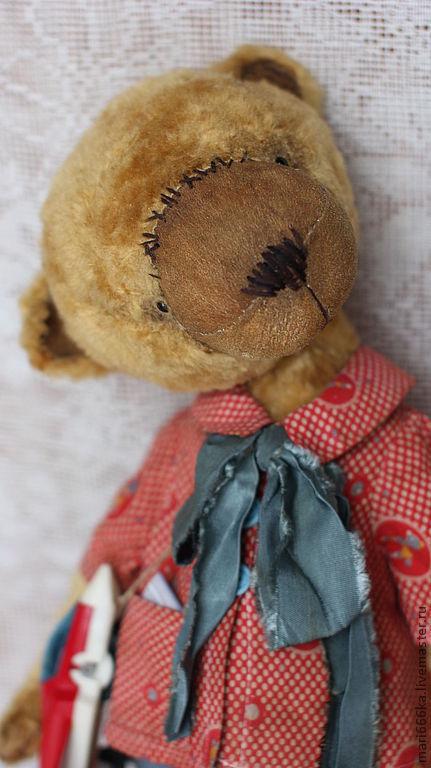 Мишки Тедди ручной работы. Ярмарка Мастеров - ручная работа. Купить Потап.. Handmade. Желтый, тедди мишка