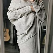Одежда handmade. Livemaster - original item cardigans: Light Knitted Long Transformer cardigan. Handmade.