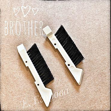 Материалы для творчества ручной работы. Ярмарка Мастеров - ручная работа Японские щетки для вязальных машин brother 5 класса. Handmade.